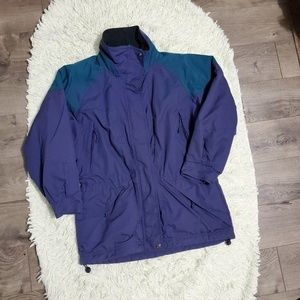 Vintage Columbia Cinch Waist Ski Jacket